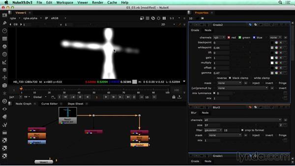 Creating glow controls in NUKE