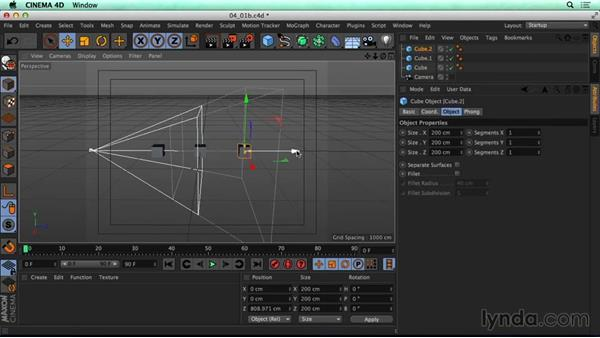 Exploring depth controls in C4D camera: CINEMA 4D Rendering Tips for NUKE