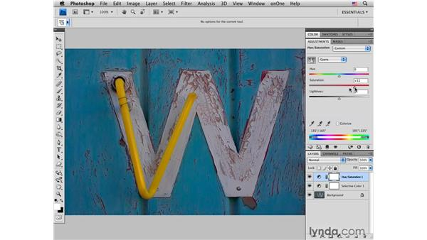 Old neon sign: Creating impact: Photoshop CS4 for Photographers: Creative Color