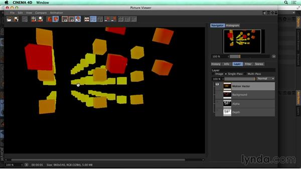 Rendering settings for depth and motion blur: CINEMA 4D Rendering Tips for NUKE