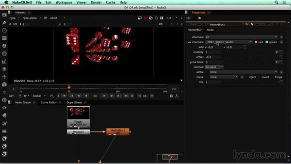Creating motion blur in NUKE: CINEMA 4D Rendering Tips for NUKE