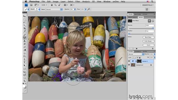 Strawberry ice cream: Making subtle color enhancements: Photoshop CS4 for Photographers: Creative Color