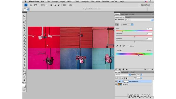 Deconstructing Hue/Saturation: Photoshop CS4 for Photographers: Creative Color