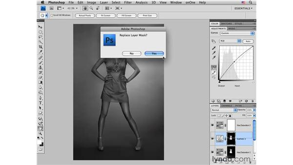Replacing and modifying color: Photoshop CS4 for Photographers: Creative Color
