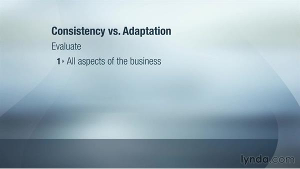 Local adaptation vs. global consistency: Global Strategy