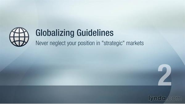 Globalizing the young venture: Global Strategy