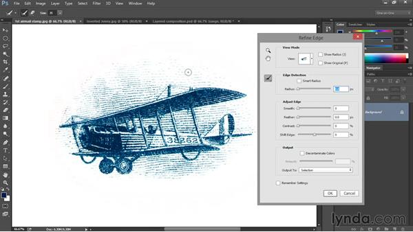 Selecting and masking: Eight Things Everyone Should Know about Photoshop