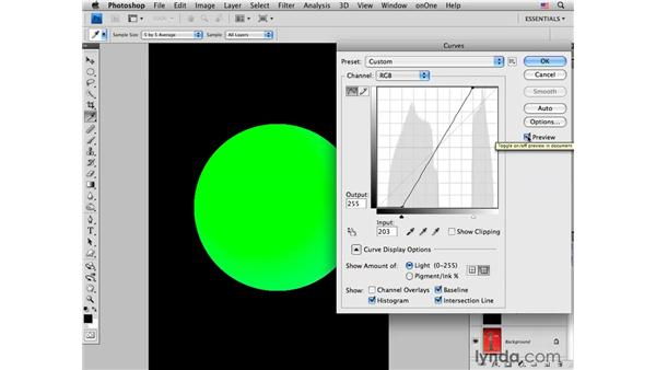 Deconstructing color saturation with Levels and Curves: Photoshop CS4 for Photographers: Creative Color