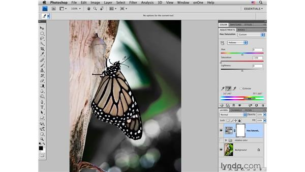 Using Hue/Saturation and Curves to understand relative color: Photoshop CS4 for Photographers: Creative Color