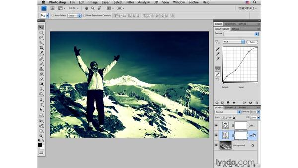Cross processing black-and-white photos: Photoshop CS4 for Photographers: Creative Color