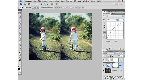Integrating cross processing into a creative workflow: Photoshop CS4 for Photographers: Creative Color