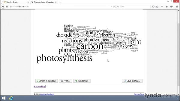Creating word clouds on Wordle: Teacher Tech Tips