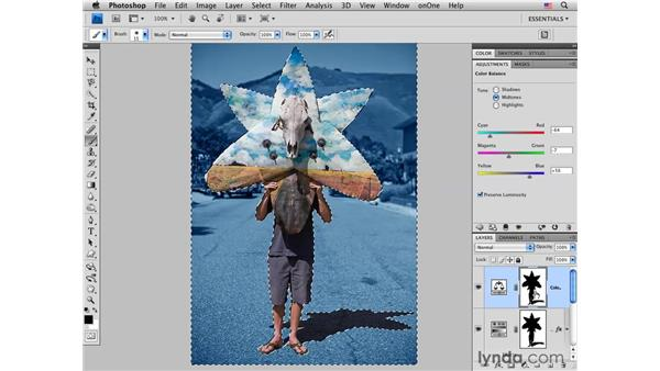 Creative color reduction using Hue/Saturation, Curves, and masking: Photoshop CS4 for Photographers: Creative Color