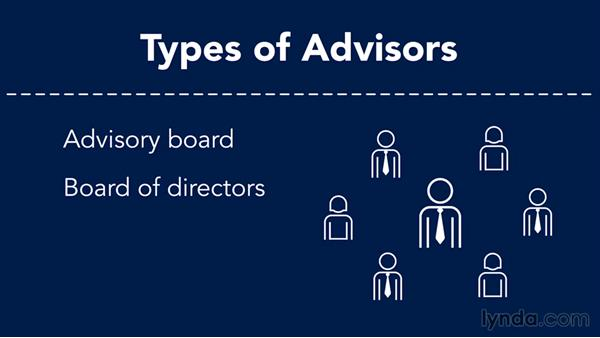 Getting advisors: Creating a Business Plan