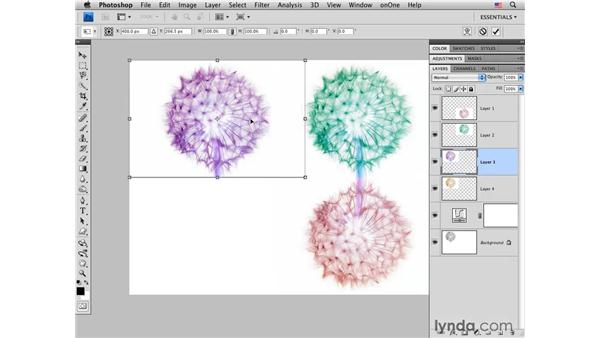 Multi-image project: Removing and adding color and creating a layout: Photoshop CS4 for Photographers: Creative Color