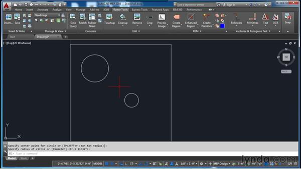 Creating a new image: AutoCAD Raster Design Essential Training