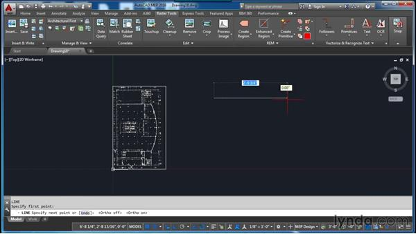 Matching an image: AutoCAD Raster Design Essential Training