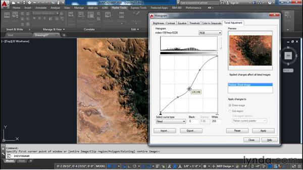 Processing an image: AutoCAD Raster Design Essential Training