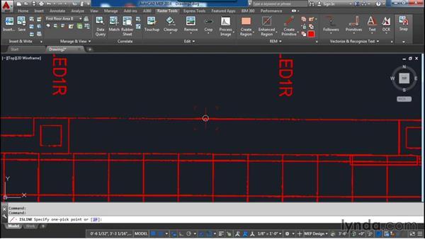 Creating primitives: AutoCAD Raster Design Essential Training