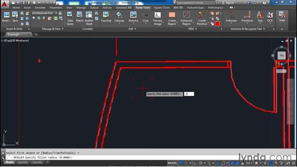 Editing primitives: AutoCAD Raster Design Essential Training