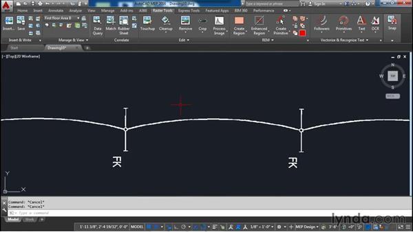 Adding primitives: AutoCAD Raster Design Essential Training