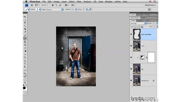 Rock-star style: Putting it all together to create edgy color and tone: Photoshop CS4 for Photographers: Creative Color