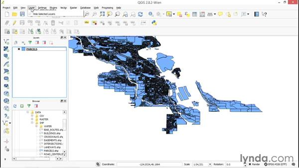 Adding WMS data: Up and Running with QGIS