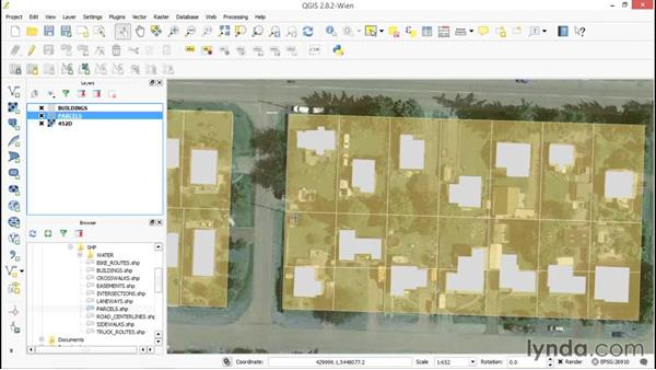 Exploring polygon layers: Up and Running with QGIS