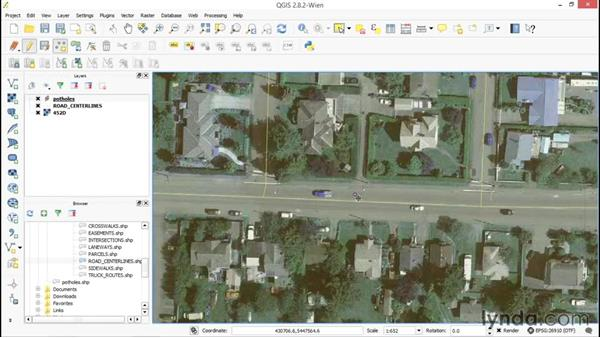 Creating new vector data: Up and Running with QGIS