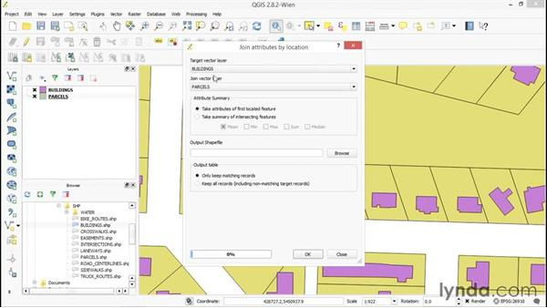 Overlaying two vector layers: Up and Running with QGIS
