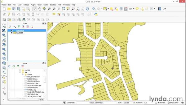 Creating centroids from polygons: Up and Running with QGIS