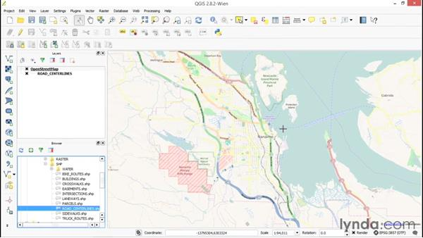 Adding and using the OpenLayers plugin: Up and Running with QGIS