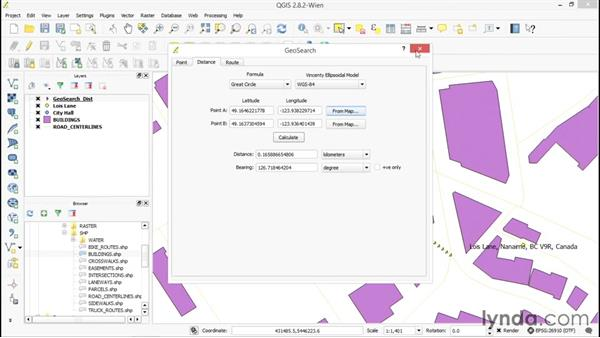 Adding and using the GeoSearch plugin: Up and Running with QGIS