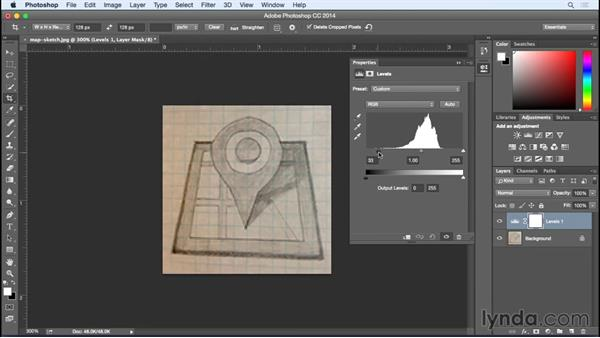 Taking sketches digital: Designing Icons for the Web