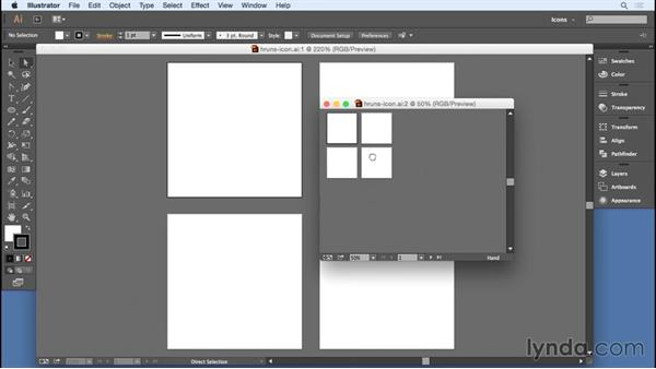 Creating a preview window: Designing Icons for the Web