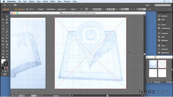 Adding sketches: Designing Icons for the Web
