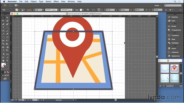 Modifying strokes: Designing Icons for the Web
