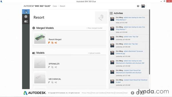 Using the projects page: Up and Running with BIM 360 Glue