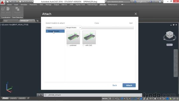 Gluing models from AutoCAD: Up and Running with BIM 360 Glue