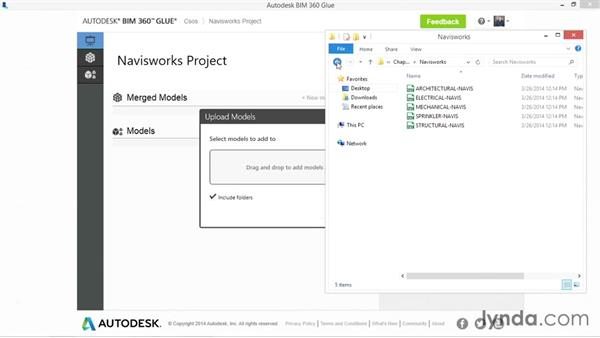 Gluing models from Navisworks: Up and Running with BIM 360 Glue