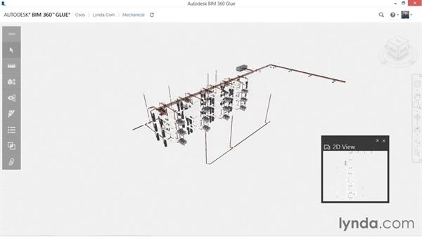 Opening and viewing glued models: Up and Running with BIM 360 Glue
