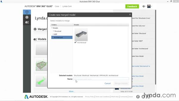 Merging models: Up and Running with BIM 360 Glue