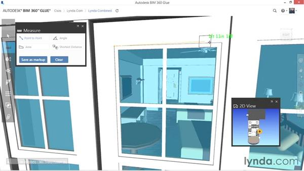 Measuring: Up and Running with BIM 360 Glue