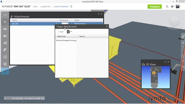 Adding links: Up and Running with BIM 360 Glue