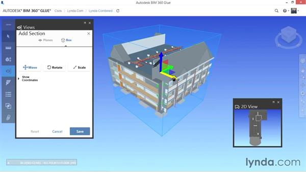 Adding sections: Up and Running with BIM 360 Glue