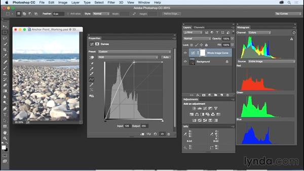 Understanding how Curves works: Exploring Photoshop: Mastering Curves