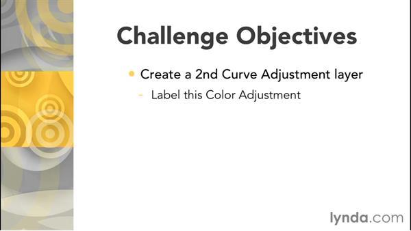 Challenge: Correcting tone: Exploring Photoshop: Mastering Curves