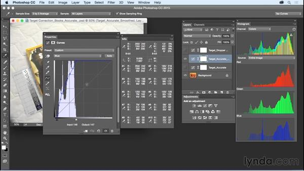 Fine-tuning your curves: Exploring Photoshop: Mastering Curves
