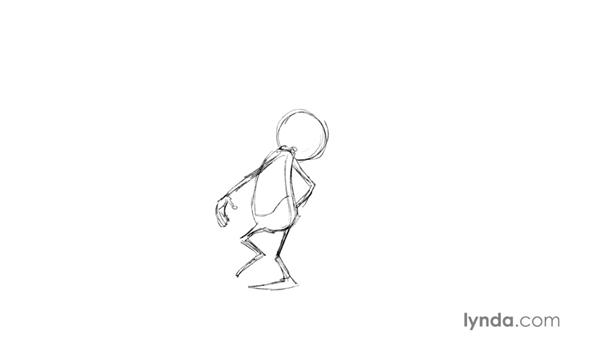 Gesture and attitude drawings: Foundations of Drawing Cartoon Characters for Animation