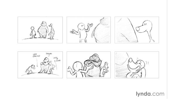 Composition and camera angles: Foundations of Drawing Cartoon Characters for Animation